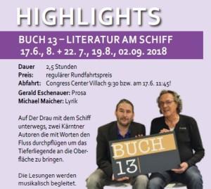 BUCH13 Literatur am Schiff 2018