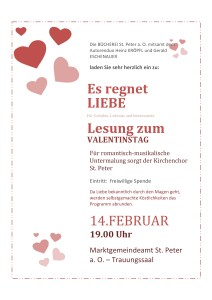 Valentinstag Einladung